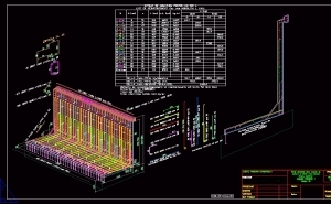 LWALL-Armarea 3D a zidurilor de sprijin L
