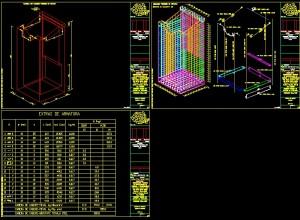 Camera de cadere-DWG de iesire, exemplul 2