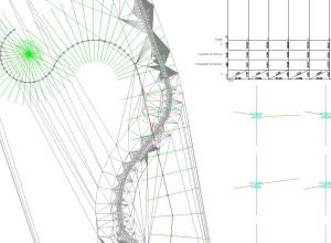 Sectiuni transversale si profil longitudinal-Detaliu