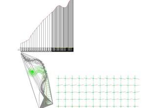 Sectiuni transversale si profil longitudinal-Vedere de ansamblu