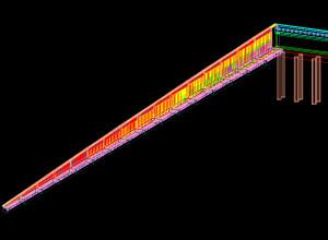 LWall-un exemplu cu 16x4=64 ziduri L, de la rampele unui pasaj