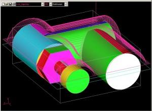 Piesa 2 - frezare 3D