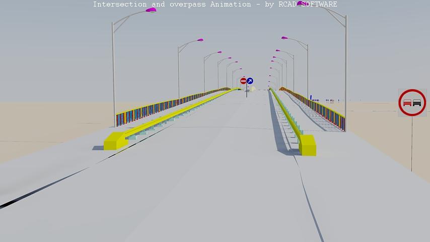 Intersectie si pasaj