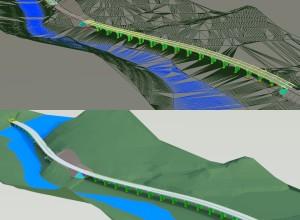 Studiu autostrada Sibiu-Pitesti, Km24+300-30+400, 2 pasaje, 17x40 m si 14x40 m