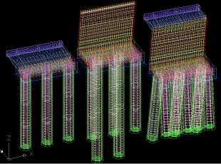 Drilled Columns-Tipuri consola+timpan