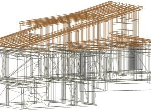 GWB O casa din lemn, DWG initial