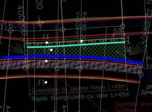 DCT Exemplu de radiere si coloane de trasat